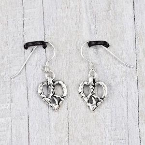 "Island Cowgirl Love + Peace 1"" earrings"
